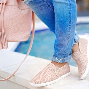 Brand new never worn Joie sneakers in dusty pink